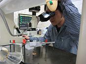 測定専門のプロによる部品検査